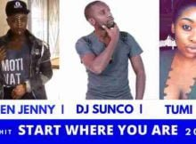 Dj Sunco Start Where You Are ft. Queen Jenny & Tumi mp3 download