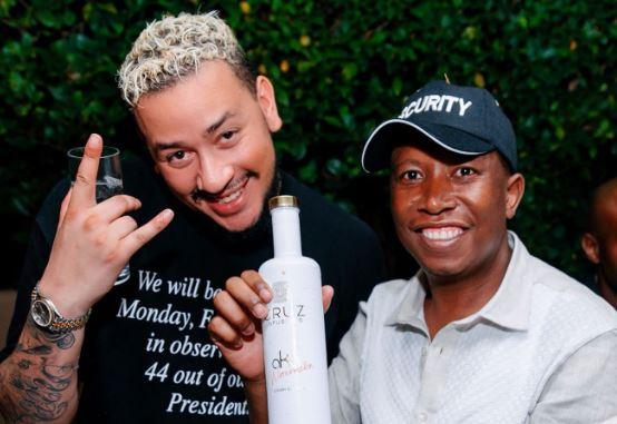 Rapper AKA & Julius Malema Ends Beef (Photos)