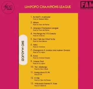 Sho Madjozi Limpopo Champions League Album zip download free mp3