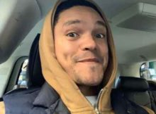 Trevor Noah visits Disneyland (Photos)