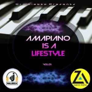 Dj Malebza Amapiano Is A LifeStyle Vol 01 mp3 download free mix mixtape album zip download fakaza hiphopza datafilehost volume 1