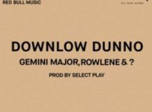 Gemini Major, Rowlene Downlow Dunno mp3 download free datafilehost full music audio song fakaza hiphopza zamusic flexyjam afro house king 2019