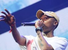 watch as A-Reece drops bars at Castle Lite Unlocks