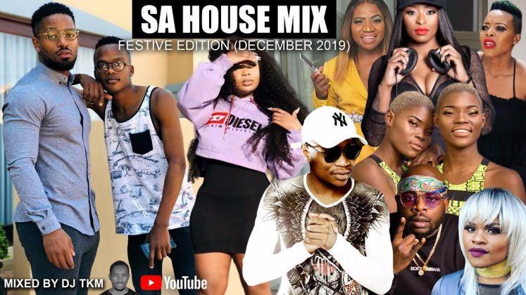 DJ TKM - SA House Mix Dec 2019 ft. Master KG, TNS, DJ Zinhle mp3 download