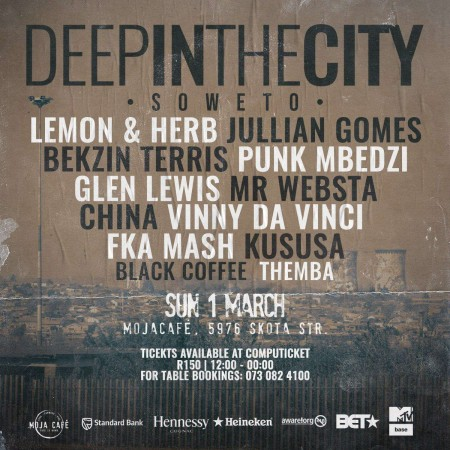 Black Coffee – Live At (Deep In The City Soweto) mp3 download mix 2020