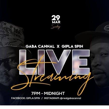Gaba Cannal & Gipla Spin – Live Stream mix mp3 download