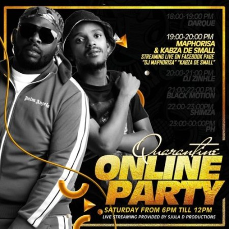 Kabza De Small & DJ Maphorisa – Quarantine Online Party Mix mp3 download
