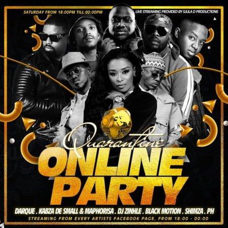 SA Quarantine Online Party Pt 3 ft. DJ PH mix mp3 download