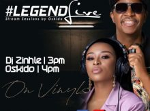 Dj Zinhle - Legend Live Mix (Presents by Oskido) mp3 download