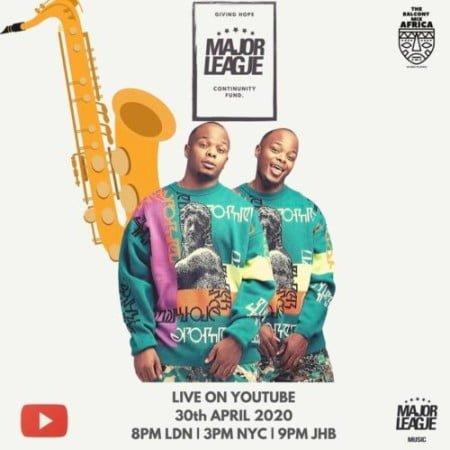 Major League - Amapiano Live Balcony Mix 13 mp3 download