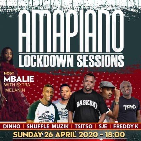Sje Konka & Freddy K – Amapiano Lockdown Sessions mp3 download