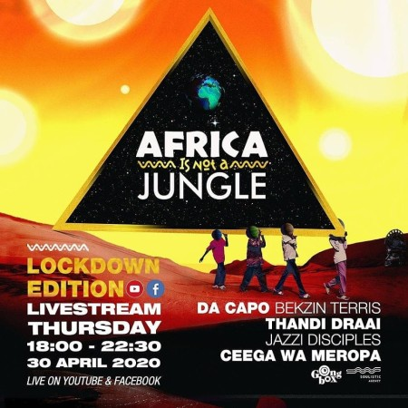 Ceega Wa Meropa - Africa Is Not A Jungle Live Mix mp3 download