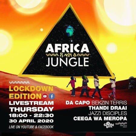Ceega Wa Meropa - Africa Is Not A Jungle Live Mix mp3 download