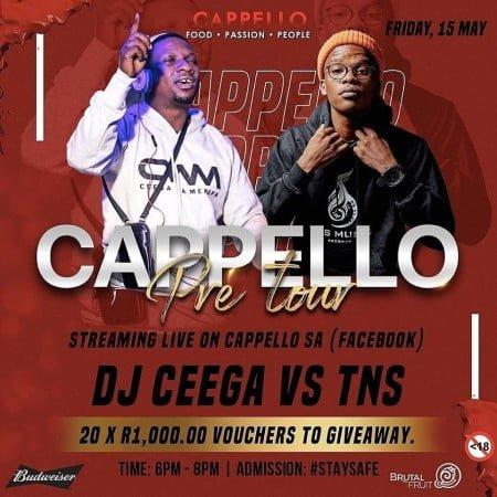 Ceega Wa Meropa Cappello Pre Tour Mix mp3 download