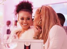 DJ Zinhle gets emotional celebrating Pearl Thusi birthday