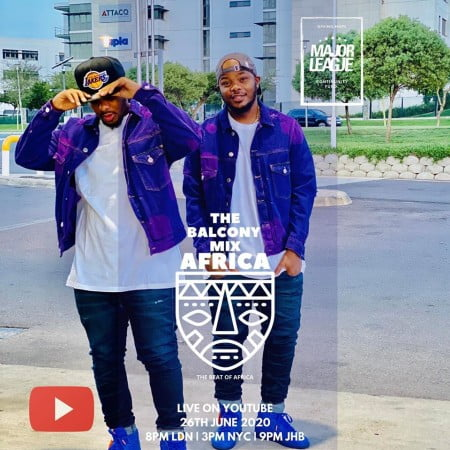 Major League – Amapiano Live Balcony Mix 21 mp3 download