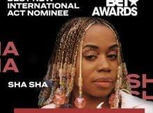 Sha Sha Gets 2020 BET Award Nomination