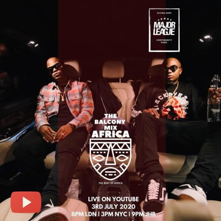 Major League – Amapiano Live Balcony Mix 22 mp3 download africa