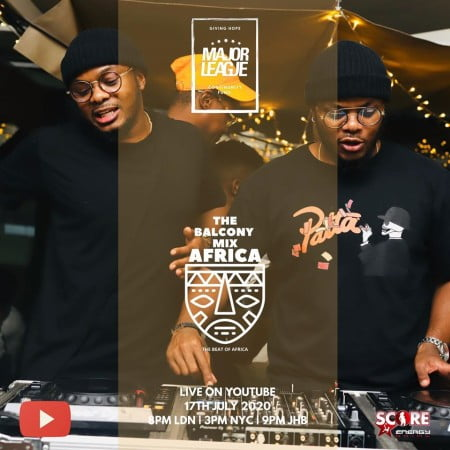 Major League – Amapiano Live Balcony Mix 24 mp3 download free