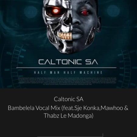 Caltonic SA - Bambelela (Vocal Mix) ft. Sje Konka, Mawhoo & Thabz Le Madonga mp3 download free