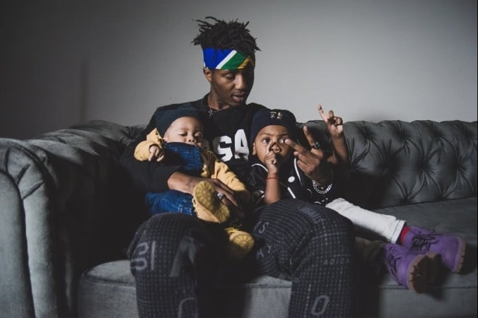 Emtee Shares 28th Birthday Experience With Sons news