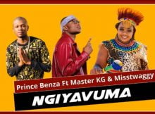 Prince Benza - Ngiyavuma Ft. Master KG & Misstwaggy Song mp3 download free