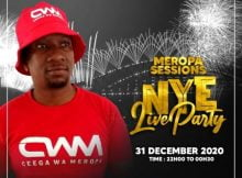 Ceega Wa Meropa - NYE Live Party Mix 2021 mp3 download free