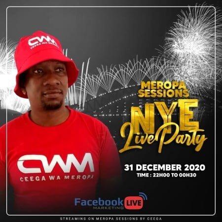 Ceega Wa Meropa - NYE Live Party Mix 2021 mp3 download free