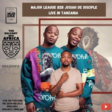 Major League & Josiah De Disciple - Amapiano Live Balcony Mix B2B (S2 EP7) mp3 download free