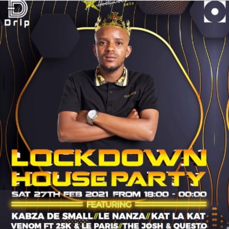 Kabza De Small – Lockdown House Party Mix 2021 (Feb 27) mp3 download free Main