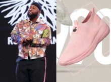 Cassper Nyovest Slams Fan who Criticized him for Pink Sneaker
