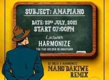 Dj Obza & Harmonize – Mang'dakiwe Remix ft. Leon Lee mp3 download free lyrics