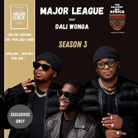 Major League & Daliwonga – Amapiano Live Balcony Mix B2B (S3 EP 4) mp3 download free