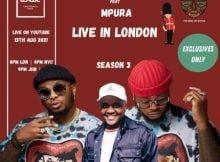 Major League & Mpura – Amapiano Balcony Mix Live In London (Tribute to Mpura) mp3 download free lyrics